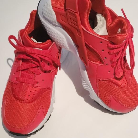 Nike Shoes   Nike Huarache Red Kids